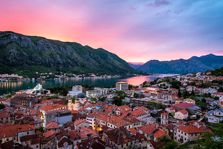 Kotor Bay during Sunset | by _gate_