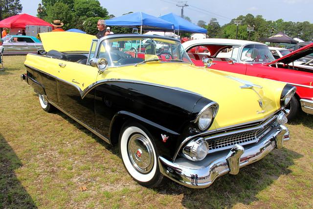 Goodguys 3rd North Carolina Nationals - 1955 Ford Sunliner Convertible