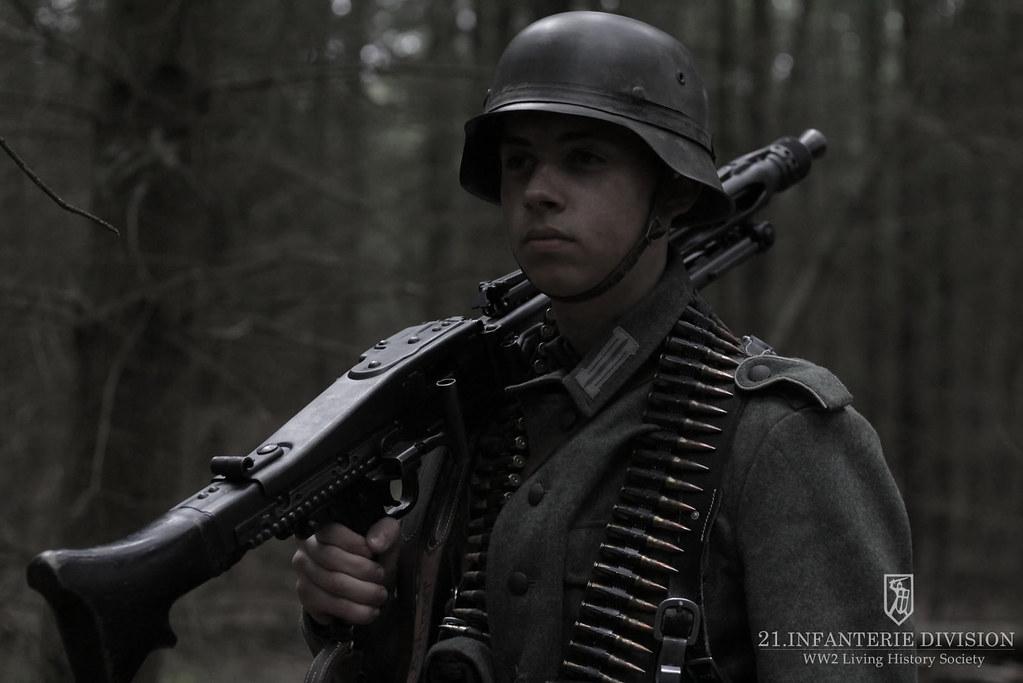 German soldiers Soviet partisan activity Latvia 1944 (16