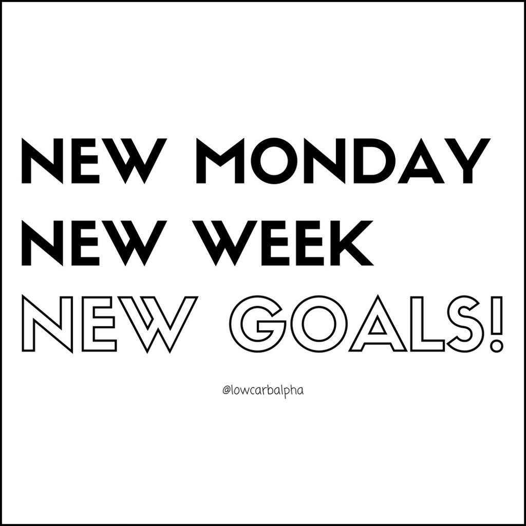 New monday new week new goals | Motivational Quotes, New Mon ...