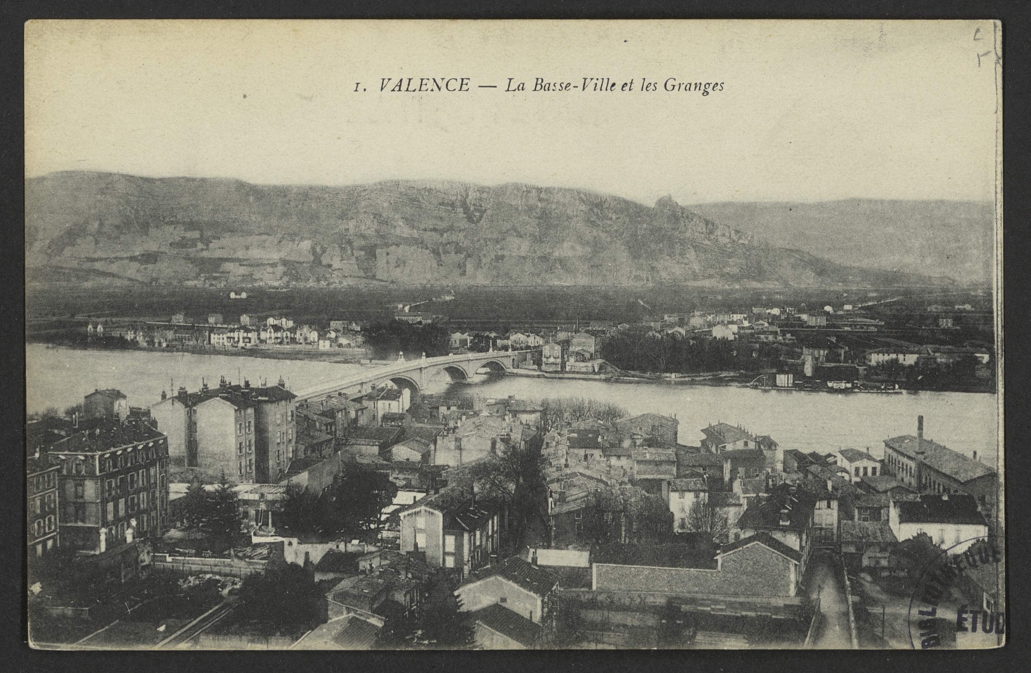 Valence - La Basse-Ville et les Granges