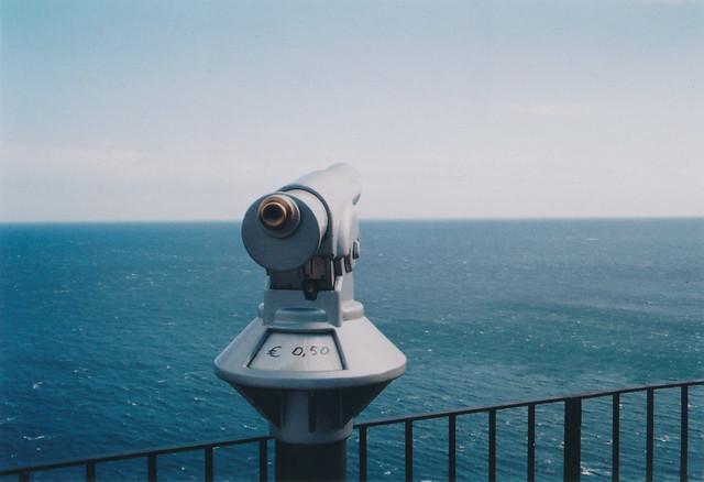 € 0,50 - Looking at the sea - Capri 2006.