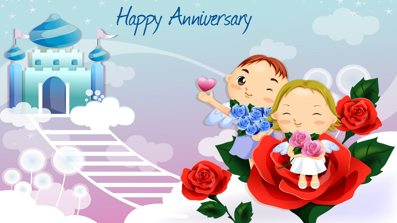 Happy Anniversary Wishes Wallpapers For Sister