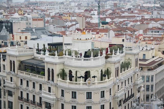 Madridin rakennuksia