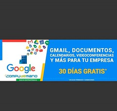 ¡30 días gratis! Gmail, Documentos, Calendarios, Videoconferencias y más para tu empresa. Llámanos (316) 425 4777. #google #cadadiamejor #instagood