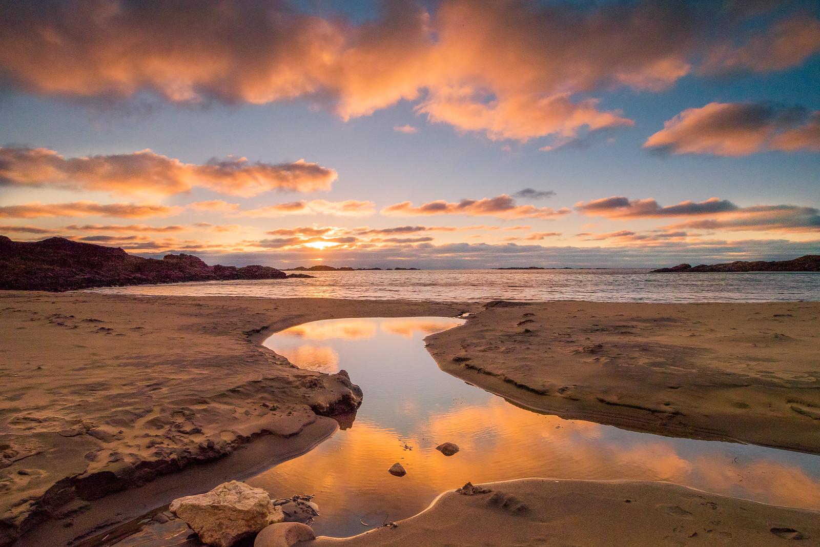 Skipssanden sunset