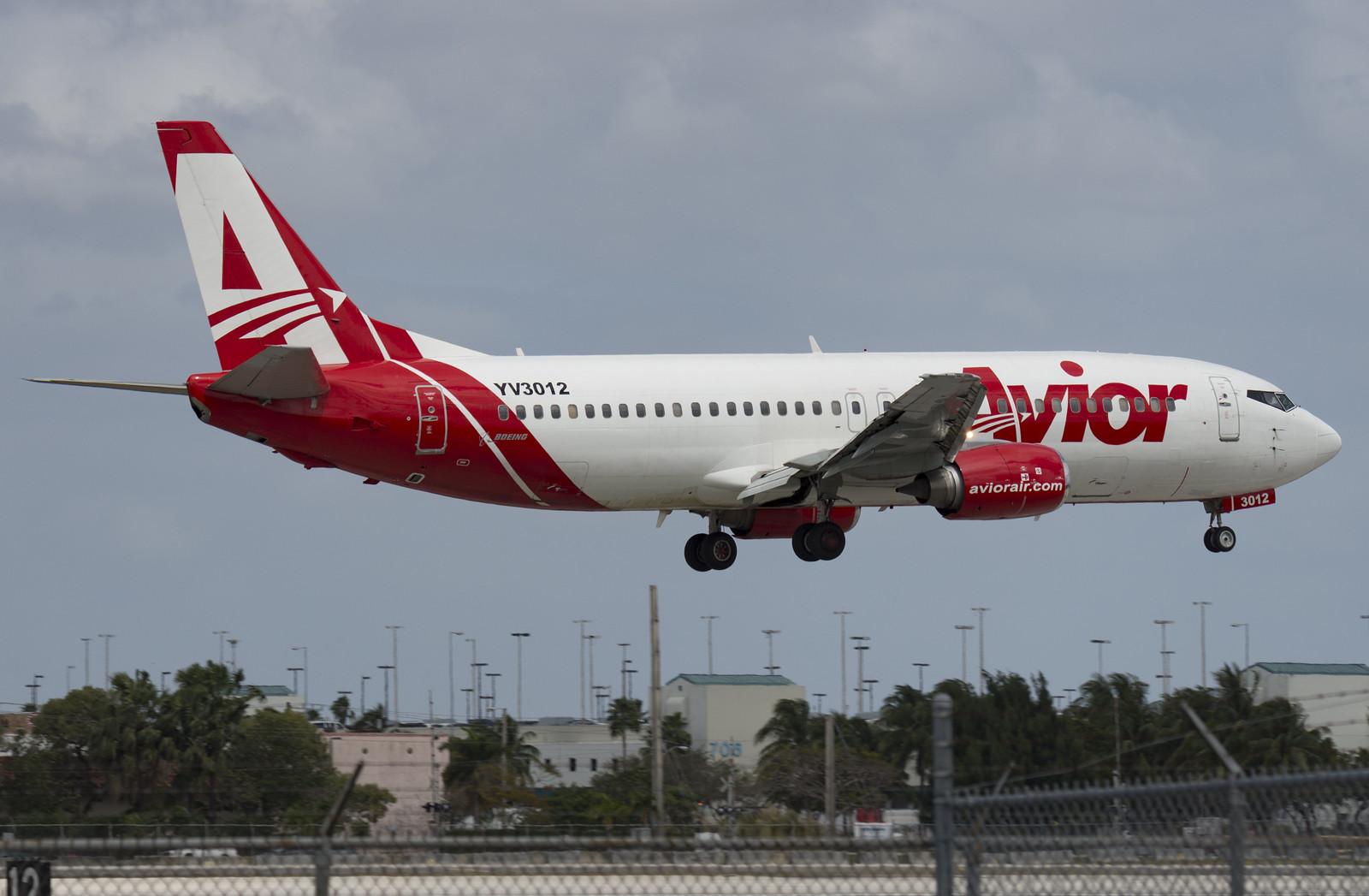 YV3012 / Boeing 737-401 / 23990/1732 / Avior Airlines