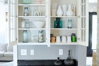 Organizing the Kitchen Hutch | by emily @ go haus go