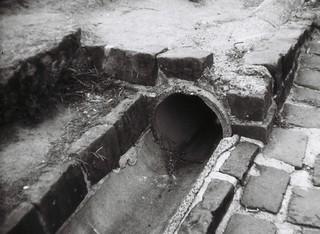 Stormwater drain | Photographed using the Kodak Brownie II