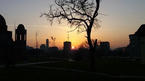 Sunset Prishtina