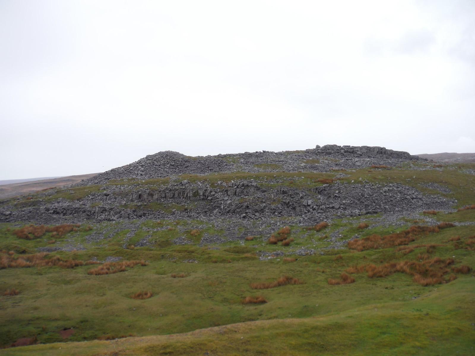 Limestone Pavement, Cribarth SWC Walk 280 Henrhyd Falls - Sgwd Henrhyd (Craig y Nos Circular) [Cribarth Plateau Start]
