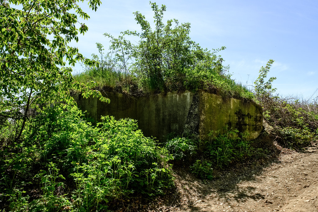 German WW2 bunker   WW2 bunkers can not only be found on the