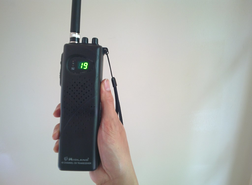 Midland 75-785 Handheld CB Radio | Got a CB radio  Not sure