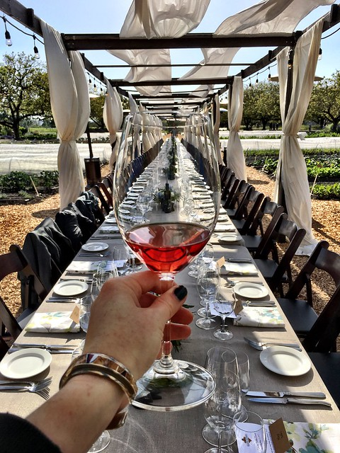 Rose all day at Kendall-Jackson's May Farm-to-Table dinner
