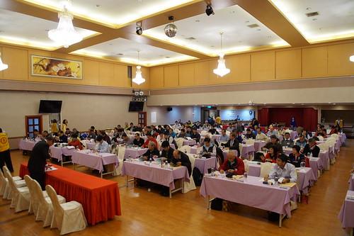圖01本次代表大會於台北國軍英雄館召開為期2天