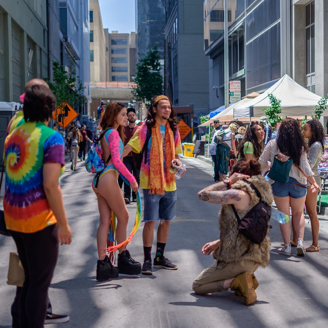 How Weird Street Faire 2017: enduringly crutches ideal