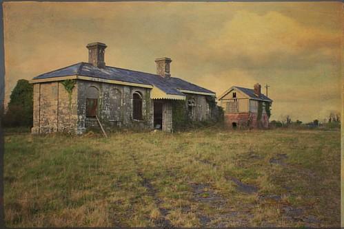 ballinlough roscommon abandonedireland train station midlands railway