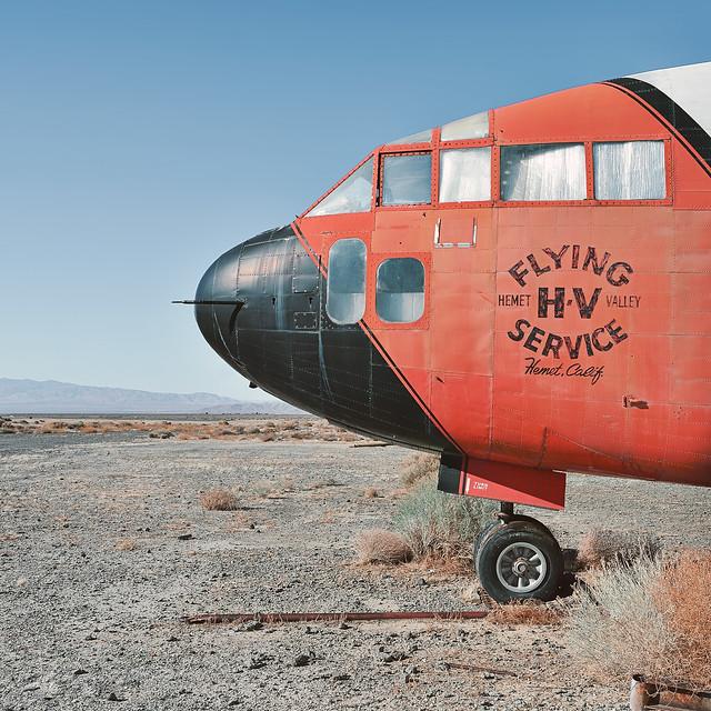 hemet valley flying service. lancaster, ca. 2012.