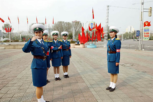 Pyongyang Traffic Ladies