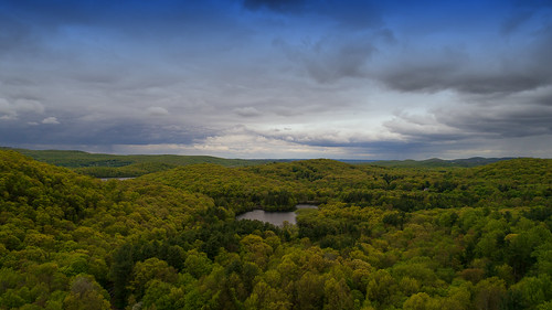 ringwood newjersey unitedstates dji phantom 4 pro plus landscape clouds trees green spring