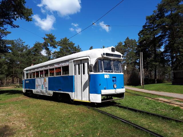 Daugavpils RVR Tram 061 Stropi