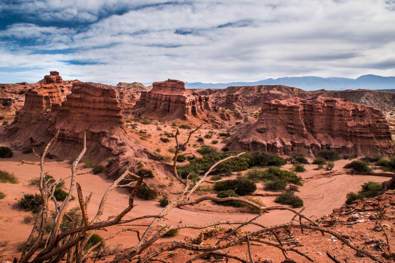 Quebrada del Rio de las Conchas near Salta in Argentina