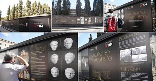 ROMA ARCHEOLOGIA e RESTAURO ARCHITETTURA: MAUSOLEO DI AUGUSTO - RIVIVI L