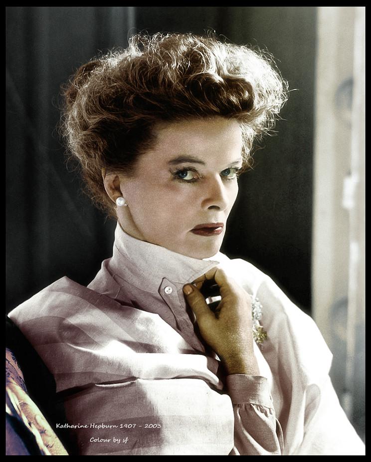 Poet Katharine Hepburn