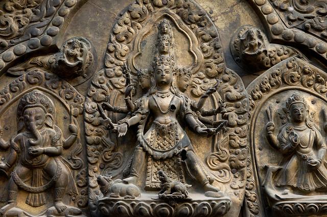 NPL - Hindu goddess Taleju - Patan