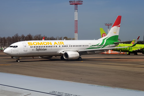 Somon Air, P4-TAJ, Boeing 737-93Y ER | by Anna Zvereva