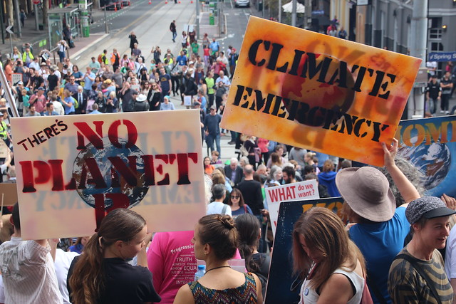 No planet B | Climate emergency - Melbourne #MarchforScience on #Earthday April 22, 2017