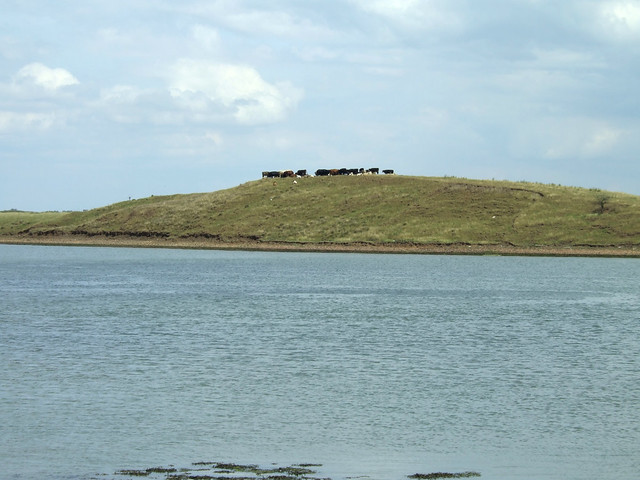 Elmley Hills on the Isle of Sheppey from the south side