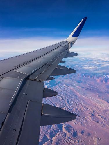 iphone ios apple colors landscape aviation utah nevada raw lightroom ipadpro ipad desert birdseye air winglets wings a320 windowseat airplane jetblue
