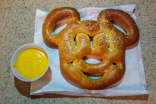 Mickey Pretzel + Cheese | by HarshLight