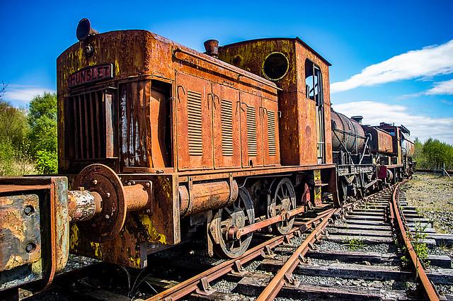 Hunslet Diesel Shunting Engine