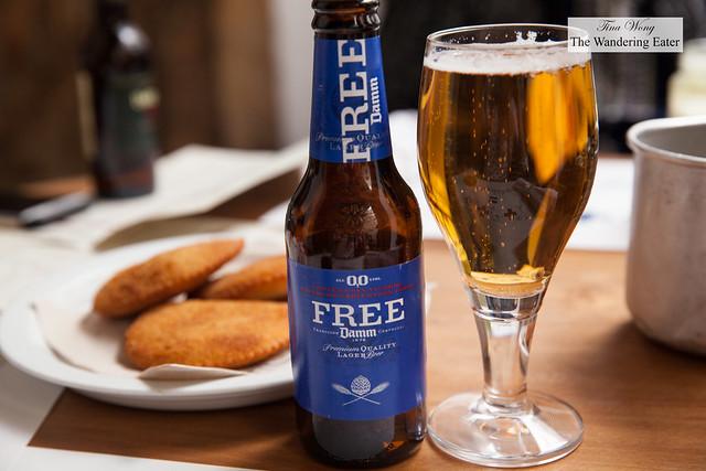 Free Damm beer