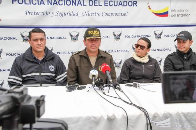 Operación Avalancha permitió desarticular presunta red delictiva, en Cuenca