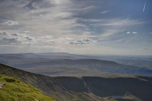 The View from Pen Y Fan Looking West