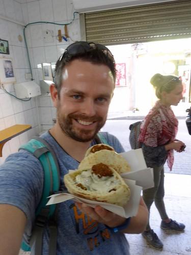 Falafel en hummus in Haifa | by tijsopreis