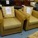Cane framed armchair 2 in stock E80
