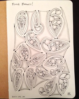 Sketchbook explorations #zentangle #tangle #tangling #laurelreganczt #alphabetsalad #tenthousandtangles #sketchbookexplorations | by Laurel Storey, CZT