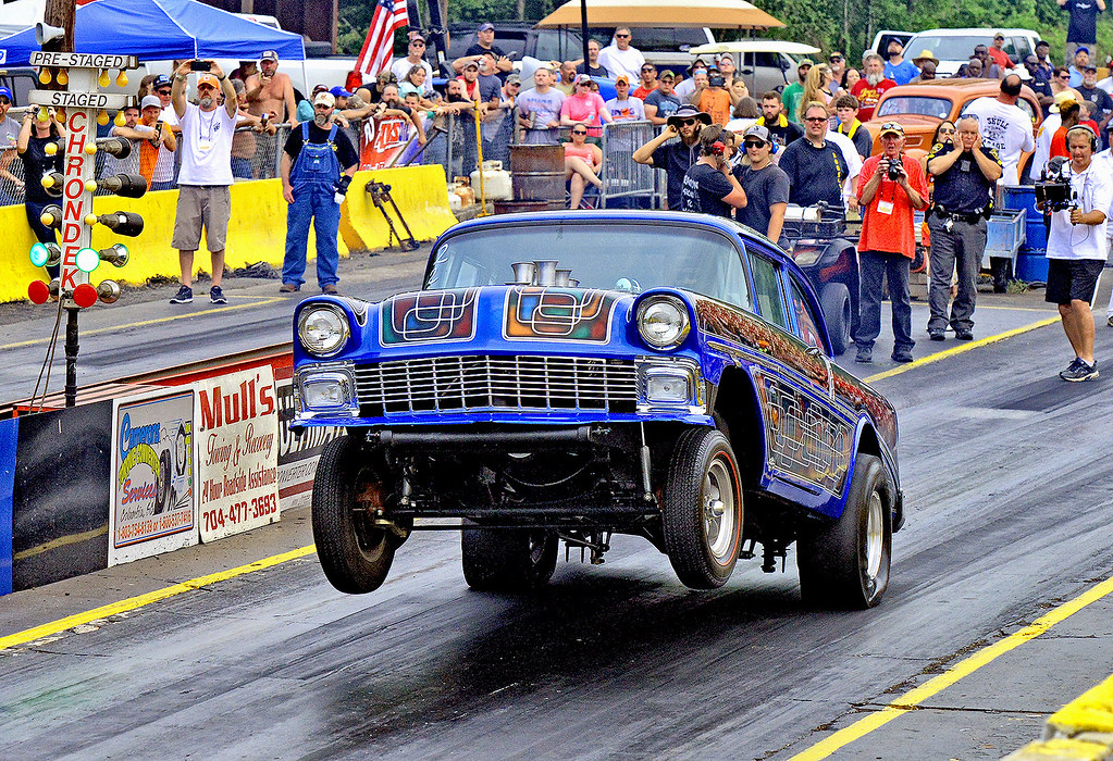 56 Chevy Gasser at Shady Side | At the Southeast Gassers As… | Flickr