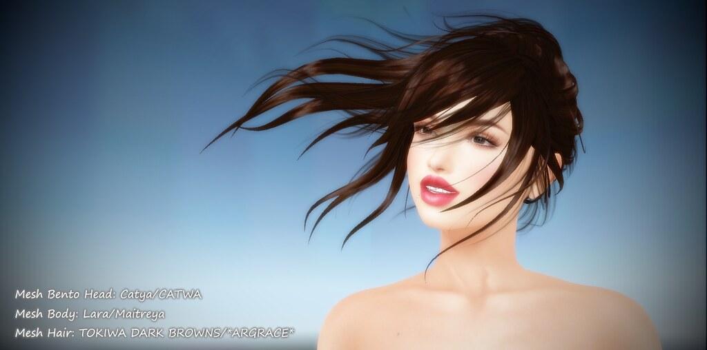 Catya/Tokiwa/Lara Avatar in Second Life | Head: Catya/CATWA … | Flickr