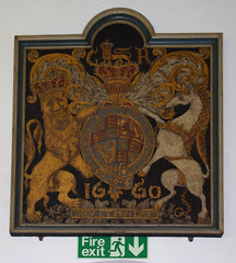 Charles II royal arms 1660