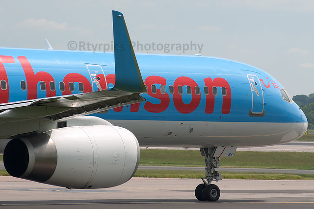 G-OOBA Thomson Airways B757-200/WL Manchester Ringway Airport