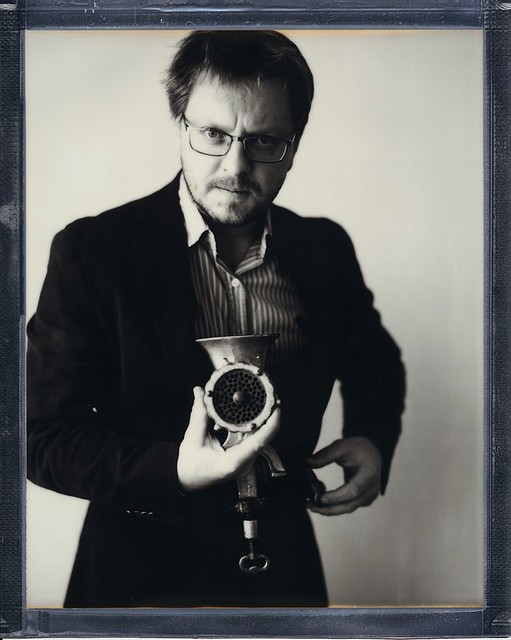 Self-portrait with a Hasselblad