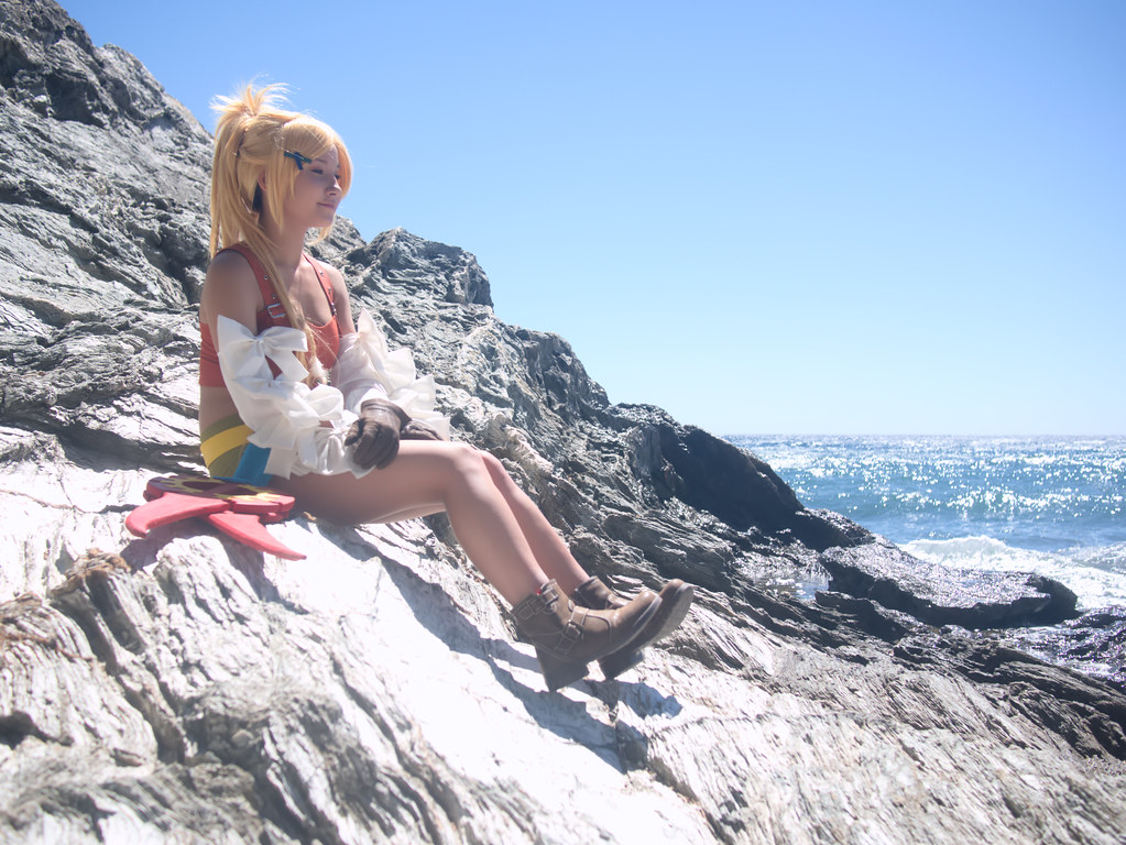 related image - Shooting Rikku - Final Fantasy X-2 - Calanque du Mont Salvat -2017-05-07- P2070172