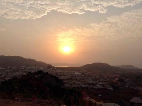 sunriseoverusumalake ushafavillage abuja nigeria jujufilms sunrise