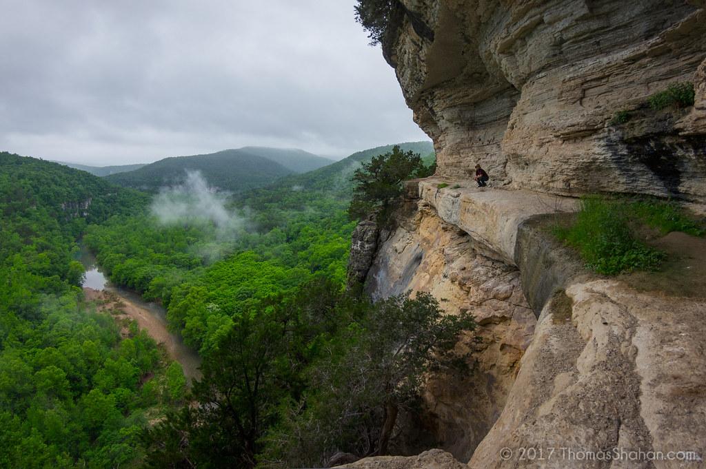 Goat Trail on Big Bluff, Arkansas