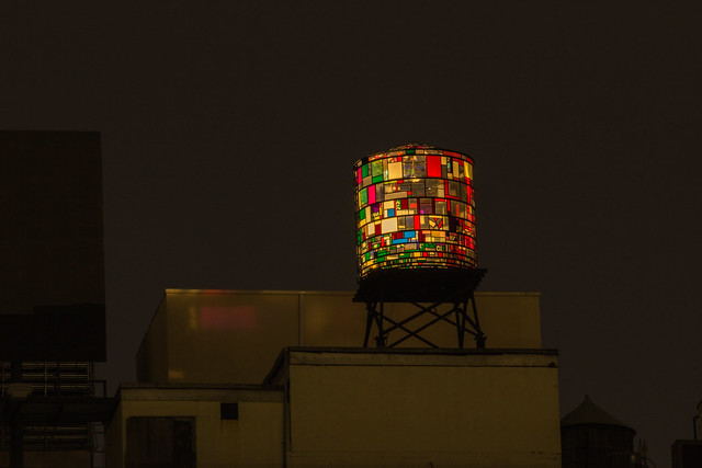Tom Fruin Watertower